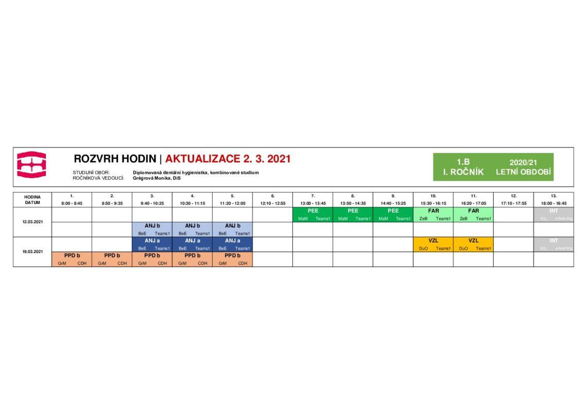 thumbnail of DH-rozvrh-KOS-LO2021-12.3. a 19.3.2021 1B